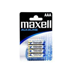 Maxell alk. baterija LR-3/AAA,4kom,shrink