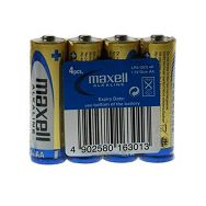 Maxell alk. baterija LR-6/AA,4kom,shrink