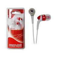 Maxell Canalz slušalice, crvene