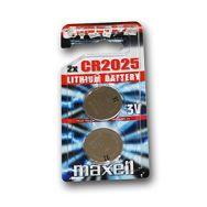 Maxell lit. dugm. baterija CR2025, 2 kom