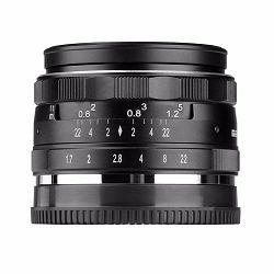 Meike 35mm f/1.7 objektiv lens za MFT mirrorless Olympus Panasonic