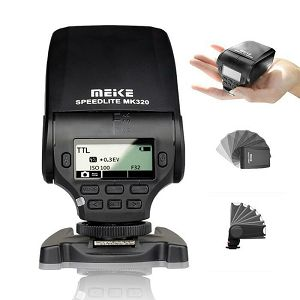 MeiKe MK-320 TTL flash Speedlite bljeskalica blic za Canon EOS M M2 100D 5D II III 6D 60D 70D 600D 7D mark II 700D 1100D T3i T2i