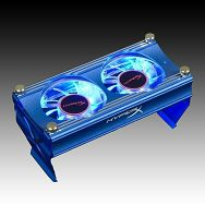 Memory Cooler KINGSTON KHX-FAN (2fan 6,3000RPM,25dB,3-pin), Retail