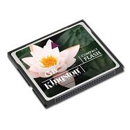 Memory ( flash cards ) KINGSTON NAND Flash Compact Flash 4096MB x 1, 1pcs