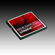 Memory ( flash cards ) KINGSTON NAND Flash Compact Flash 16GB 266x, 1pcs