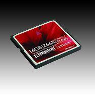 Memory ( flash cards ) KINGSTON NAND Flash Compact Flash 16GB 266x, 1pcs