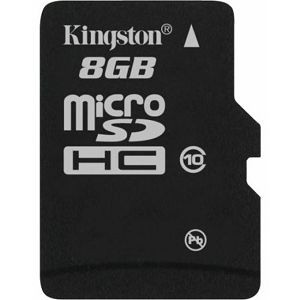 Memory ( flash cards ) KINGSTON NAND Flash Secure Digital High Capacity 8192MB, 1pcs