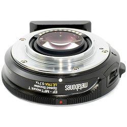 Metabones Speed Booster ULTRA 0.71x adapter Canon EF objektivi na MFT Micro Four Thirds Olympus Panasonic fotoaparate (MB_SPEF-M43-BT4)