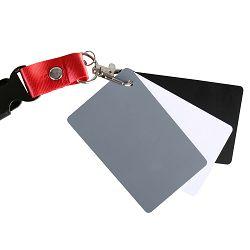 Micnova Digital Grey Card MQ-DGC-M siva karta za podešavanje balansa bijele boje