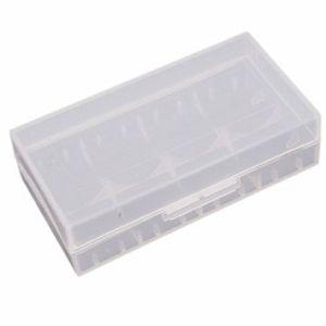 Mini kutijica za CR123A 18650 16340 baterije bijela