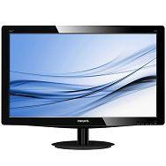 Monitor LCD PHILIPS 196V3LAB5/00 (18.5, 1366x768, TN, 1000:1, 10000000:1(DCR), 170/160, 5ms, DVI/VGA/Audio Interface, MM) Black