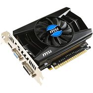 MSI GeForce CUDA GTX750OC 2GB DDR5 128BIT DVI/HDMI/DSub BOX
