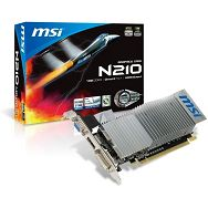 MSI GF N210,1GB DDR3,HDMI, DVI, DX10, LP