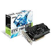 MSI GF N750-1GD5, 1GB GDDR5, HDMI, DVI, DX11