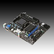 MSI Main Board Desktop AMD 760G (SAM3+,DDR3,VGA,SATA II,LAN,USB 2.0,DVI) mATX Box