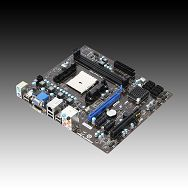 MSI Main Board Desktop AMD A55 (SFM1,DDR3,VGA,SATA II,LAN,USB 2.0,DVI) mATX Box