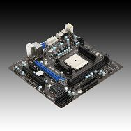 MSI Main Board Desktop  AMD A55 (Socket FM1, DDR3, PS/2,VGA,USB2.0,LAN,Audio Interface,SATA II,DVI) mATX Retail