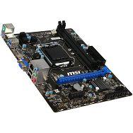 MSI Main Board Desktop iH87 (S1150, DDR3,USB3.0,USB2.0,SATA III,Audio Line-Out,Audio Line-In,Microphone-In,LAN,VGA,HDMI) mATX Retail