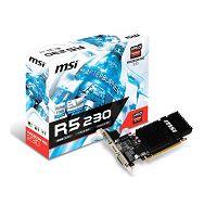 MSI R5 230, 2GB DDR3, VGA, DVI, HDMI