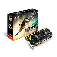 MSI R9 270X HAWK 2GB GDDR5, DVI-I, DVI-D, DP, HDMI