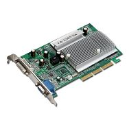 MSI Video Card GeForce FX 5500 DDR 256MB/128bit, 250MHz/266MHz, AGP 8x,DVI, VGA Heatsink, Retail
