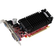 MSI Video Card GeForce GT 610 DDR3 2GB/64bit, 810MHz/1334MHz, PCI-E 2.0 x16, HDMI, DVI, VGA Heatsink, Low-profile, Retail