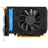 MSI Video Card GeForce GT 640 GDDR3 2GB/128bit, 900MHz/1629MHz, PCI-E 3.0 x16, HDMI, DVI, VGA Cooler (Double Slot), Retail