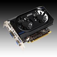 MSI Video Card GeForce GT 640 GDDR3 1GB/128bit, 900MHz/1334MHz, PCI-E 3.0 x16,HDMI,DVI, VGA Cooler (Double Slot), Retail