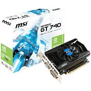 MSI Video Card GeForce GT 740 GDDR5 2GB/128bit, 1006MHz/5000MHz, PCI-E 3.0 x16, HDMI,DVI, VGA, Retail