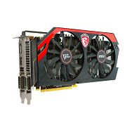 MSI Video Card GTX 760 GAMING GDDR5 4GB/256bit, 1006MHz/6008MHz, PCI-E 3.0 x16, DP, HDMI, 2xDVI, VGA Cooler (Double Slot), Retail