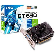 MSI Video Card N630GT-MD1GD3 DDR3 2GB/128bit, 810MHz/1620MHz, PCI-E 2.0 x16, HDMI, DVI, VGA Cooler (Double Slot), Retail