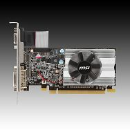 MSI Video Card Radeon HD 6450 DDR3 1024MB/64bit, 625MHz/1333MHz, PCI-E 2.1 x16,HDMI,DVI, VGA Cooler, Retail