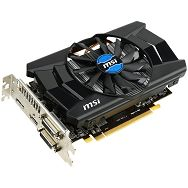 MSI Video Card Radeon R7 260 GDDR5 1GB/128bit, 1050MHz/6000MHz, PCI-E 3.0 x16, DP, HDMI, 2x DVI, VGA Cooler(Double Slot), Retail
