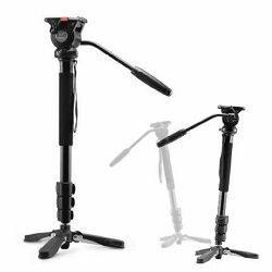 Nest NT-329M 145cm 5kg + Fluid Damped Pan Head komplet Video Monopod spider-foot s fluidnom glavom