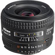 Nikon AF 35mm f/2D FX širokokutni objektiv fiksne žarišne duljine Nikkor 35 2.0 f/2.0 F2 f/2 prime wide lens (JAA129DA)