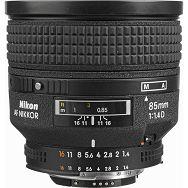 Nikkor AF 85mm f/1.4D FX objektiv auto focus Nikon JAA332DA
