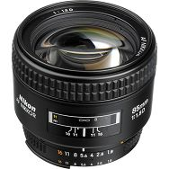 Nikkor AF 85mm f/1.8D  FX objektiv auto focus Nikon JAA328DB