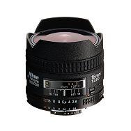 Nikon AF 16mm f/2.8D FX Fisheye objektiv fiksne žarišne duljine Nikkor auto focus prime lens 16 f/2.8 F2.8 2.8 D F2.8D (JAA626DA)