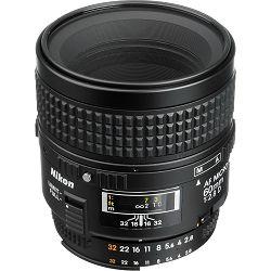 Nikon AF 60mm F2.8D Micro FX Macro objektiv fiksne žarišne duljine Nikkor auto focus prime lens 60 2.8 D (JAA625DA)
