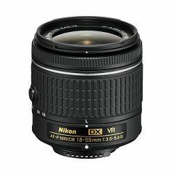 Nikon AF-P 18-55mm f/3.5-5.6G VR DX standardni objektiv auto focus Nikkor 18-55 f/3.5-5.6 F3.5-5.6 zoom lens (JAA826DA)