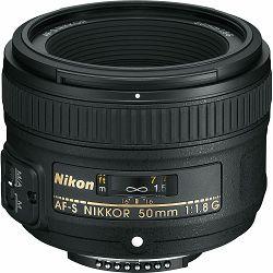 Nikon AF-S 50mm f/1.8G FX standardni objektiv fiksne žarišne duljine Nikkor prime lens auto focus 50 1.8 1.8G F1.8 F1.8G (JAA015DA) - PROLJETNA PRILIKA