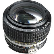 Nikon AI 50mm f/1.2 FX standardni objektiv fiksne žarišne duljine s ručnim fokusiranjem Nikkor manual focus prime lens 50 1.2 F1.2 (JAA003AB)