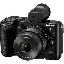 Nikon 1 V3 + 10-30mm f/3.5-5.6 PD Zoom Mirrorless Digital Camera digitalni fotoaparat i 10-30 objektiv
