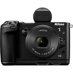 Nikon 1 V3 EVF + GRIP + 10-30mm PD ZOOM Mirrorless Digital Camera digitalni fotoaparat i 10-30 objektiv