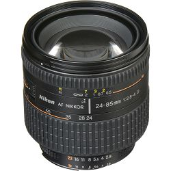 Nikon AF 24-85mm f/2.8-4D FX objektiv Nikkor auto focus zoom lens 24-85 F2.8-4 2.8-4 D (JAA774DA)