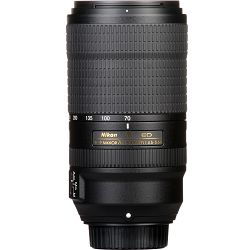 Nikon AF-P 70-300mm f/4.5-5.6E ED VR FX telefoto objektiv Nikkor auto focus lens (JAA833DA)