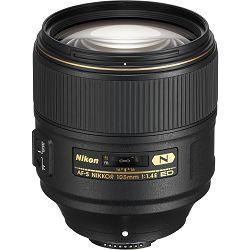 Nikon AF-S 105mm f/1.4E ED FX portretni telefoto objektiv fiksne žarišne duljine Nikkor auto focus prime lens 105 f1.4E 1.4 F1.4 f/1.4 E (JAA343DA) - TRENUTNEUŠTEDE