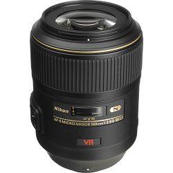 Nikon AF-S 105mm F2.8G IF-ED VR Micro FX Macro objektiv fiksne žarišne duljine Nikkor auto focus prime lens 105 2.8 G (JAA630DB)