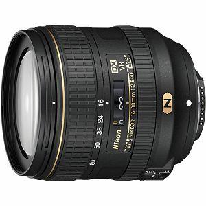Nikon AF-S 16-80mm f/2.8-4E ED VR DX standardni objektiv Nikkor 16-80 F/2.8-4.0E F2.8-4 F2.8-4.0E 2.8-4 zoom lens (JAA825DA) - PROMOCIJA 100 GODINA NIKONA