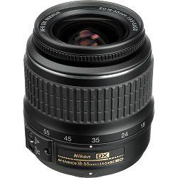 Nikon AF-S 18-55mm f/3.5-5.6G ED II DX standardni objektiv Nikkor 18-55 f/3.5-5.6 auto focus zoom lens (JAA797DB)